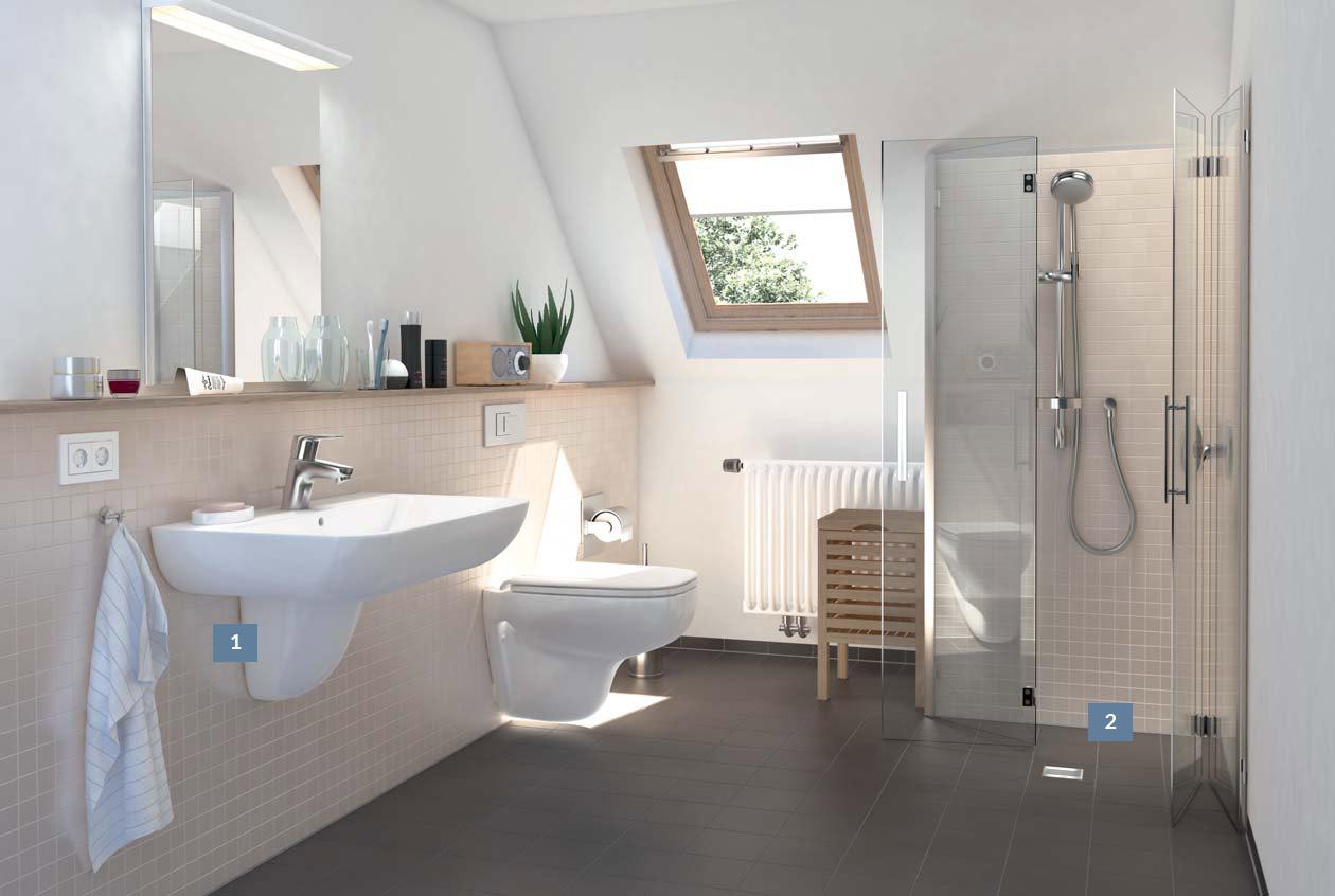Gør det selv badeværelse   find inspiration her >>