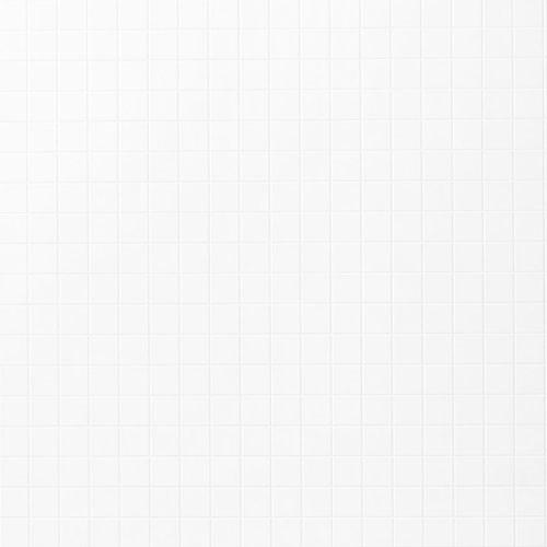 Fibo Kitchen board 1091 KM0303 KB S Rhodos White (Hvid mosaic m/hvid fuge)