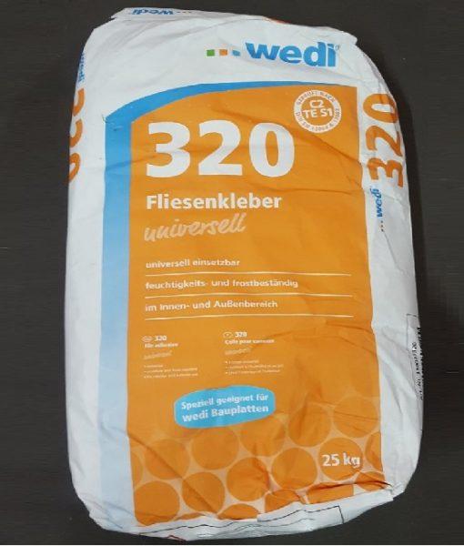 Wedi 320 fliseklæb billig til fliser