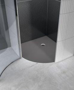 Perfekt til etablering af bad i hjørne af badeværelse - wedi fundo borgo