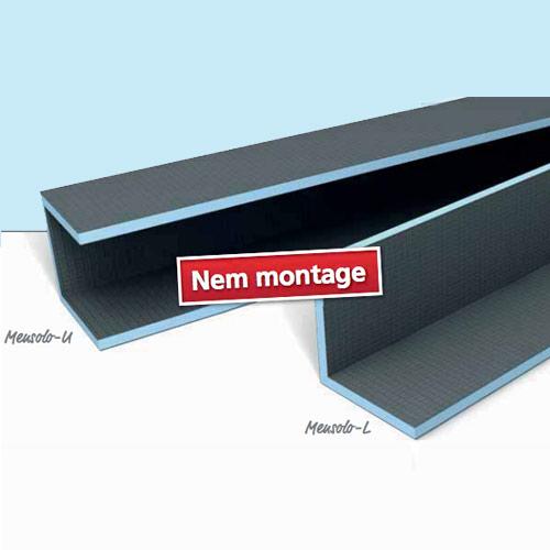 wedi mensolo l u. Black Bedroom Furniture Sets. Home Design Ideas